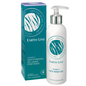 Earth-Line Vitamine E Gezichtswasgel 200ml