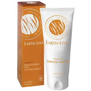 Earth-Line Vitamine E Bruin Zonder Zon 100ml