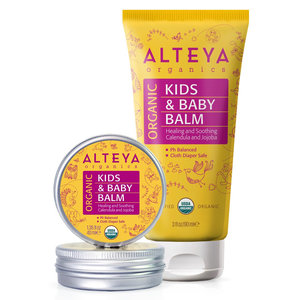 Alteya Organics Organic Kids & Baby Balm 40ml of 90ml