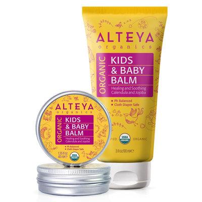 Alteya Organics Organic Kids & Baby Balm 40ml of 90ml