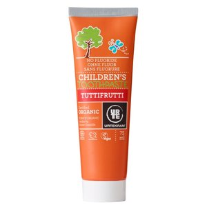 Urtekram Children's Toothpaste Tuttifrutti 75ml