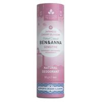 BEN&ANNA Sensitive Deodorant Papertube Cherry Blossom 60g