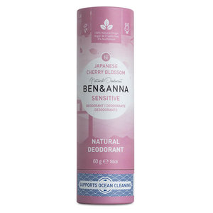 BEN&ANNA Sensitive Deodorant Stick Japanese Cherry Blossom 60g
