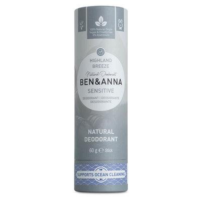 BEN&ANNA Sensitive Deodorant Stick Highland Breeze 60g