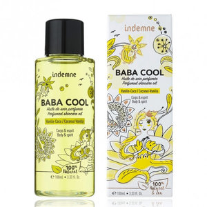 Indemne Baba Cool Perfumed Skincare Oil Vanille-Coco 100ml