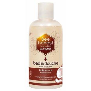 De Traay Bee Honest Bad & Douche Kokosnoot 250ml of 500ml