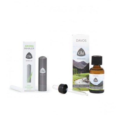 Chi Aroma Inhaler + Davos Kuurolie 10ml