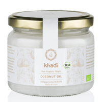Khadi Raw Organic Virgin Coconut Oil 250ml