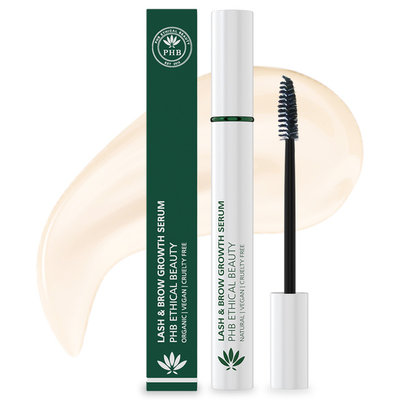 PHB Ethical Beauty Lash & Brow Growth Serum 9ml