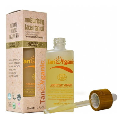 TanOrganic Moisturising Facial Tan Oil 50ml