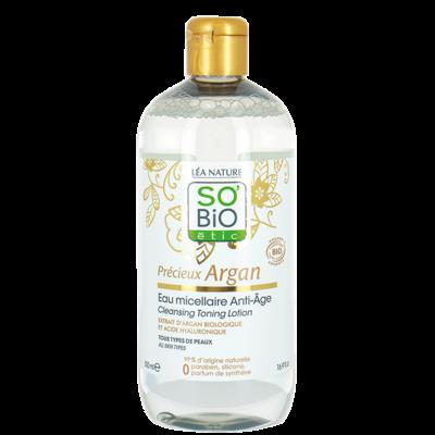 SO'BiO étic Précieux Argan Anti-Aging Micellar Water 200ml of 500ml