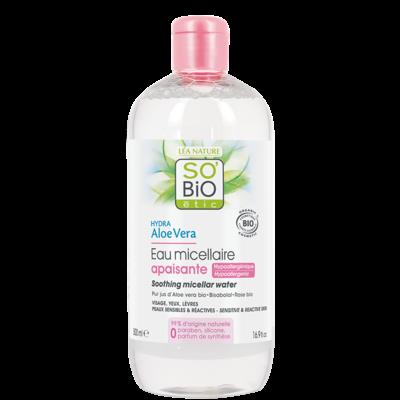 SO'BiO étic Hydra Aloe Vera 3-in-1 Soothing Micellar Water 500ml