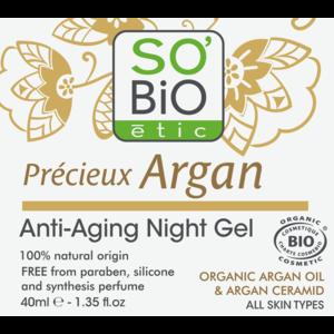 SO'BiO étic Anti-Aging Firming Night Gel 40ml