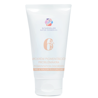 Schüssler Natur Cosmedics Crème No.6 Pigmentatiestoornissen 75ml