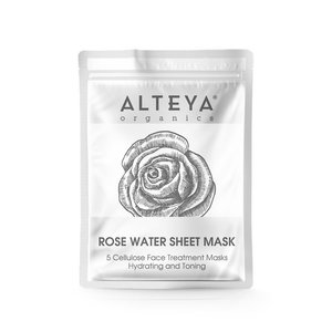 Alteya Organics Cellulose Face Treatment Masks 5st.