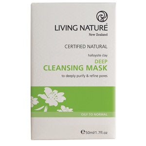 Living Nature Deep Cleansing Mask 10x5ml