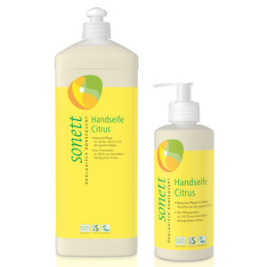 Sonett Handzeep Citrus 300ml of 1000ml