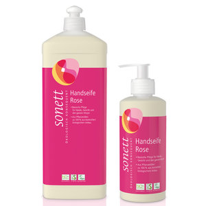 Sonett Handzeep Rozen 300ml of 1000ml