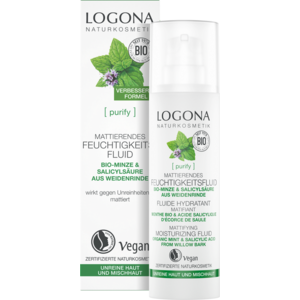 Logona [purify] Matterende Hydraterende Fluïde 30ml
