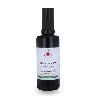 Repeat Premium Care Hand Spray Bergamot & Lemon 100ml