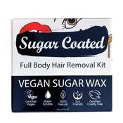 Sugar Coated Vegan Sugar Wax - Full Body Hair Removal Kit 250g