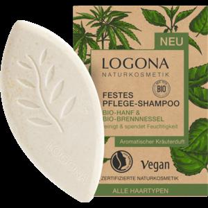 Logona Vaste Shampoo Bio-Hennep & Bio-Brandnetel 60g