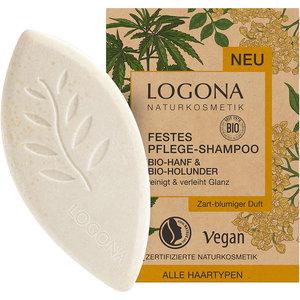 Logona Vaste Shampoo Bio-Hennep & Bio-Vlierbloesem 60g