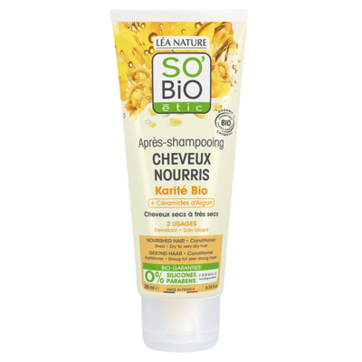 SO'BiO étic Nourished Hair Shea Butter Conditioner 200ml
