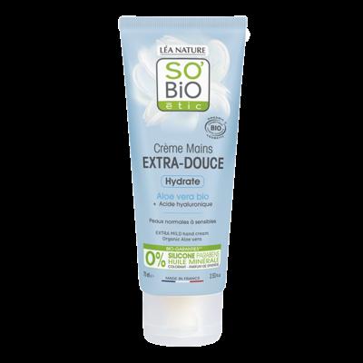 SO'BiO étic Extra Mild Hand Cream Aloe Vera 75ml