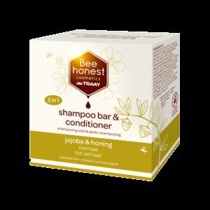 De Traay Bee Honest Shampoo Bar & Conditioner Jojoba & Honing 80g
