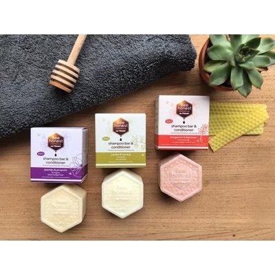 Bee Honest Shampoo Bar & Conditioner Jojoba & Honing 80g