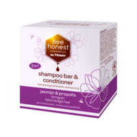 Bee Honest Shampoo Bar & Conditioner Jasmijn & Propolis 80g