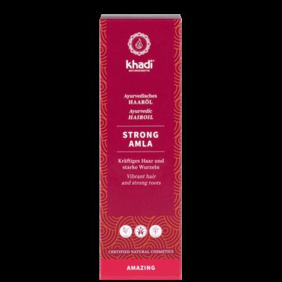 Khadi Ayurvedic Hair Oil Strong Amla 50ml