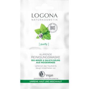 Logona [purify] Verhelderend Reinigingsmasker 2x7.5ml