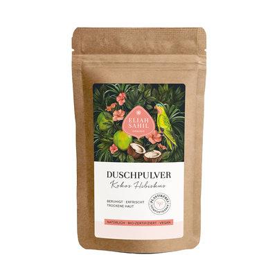 Eliah Sahil Biologische Douchepoeder Kokos Hibiscus 90g of 250g