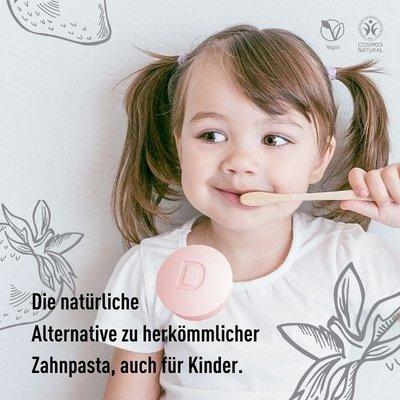 Denttabs Kids Tandenpoets Tabletten zonder Fluoride 125st