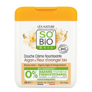 SO'BiO étic Shower Cream Argan & Orange Blossom 300ml
