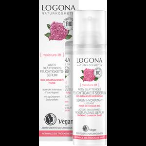 Logona [moisture lift] Actief Gladmakend Serum 30ml