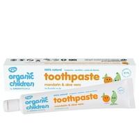 Green People Organic Children Mandarin & Aloe Vera Toothpaste 50ml