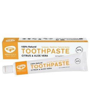 Green People Citrus & Aloe Vera Toothpaste 50ml