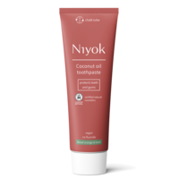 Niyok Kokosolie Tandpasta Bloedsinaasappel & Basilicum 75ml