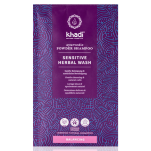 Khadi Ayurvedic Powder Shampoo Sensitive Herbal Wash 50g