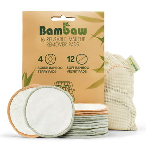 Bambaw Wasbare Bamboe Wattenschijfjes 16st.