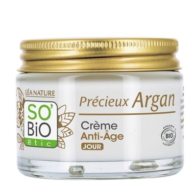 SO'BiO étic Précieux Argan Anti-Aging Firming Day Cream 50ml