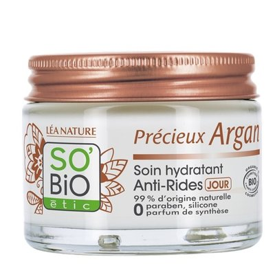 SO'BiO étic Précieux Argan Anti-Wrinkle Moisturizing Day Care 50ml