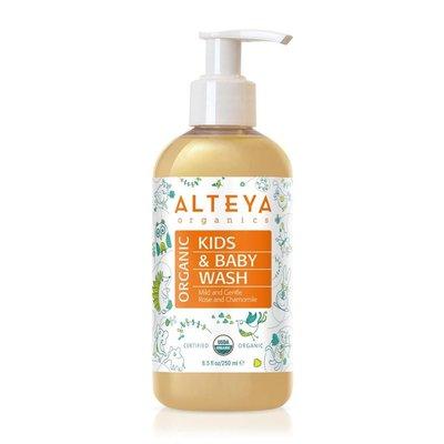 Alteya Organics Organic Kids & Baby Wash 250ml