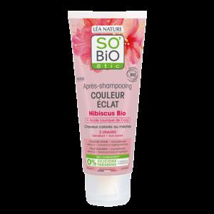 SO'BiO étic Colour Shine Hibiscus Conditioner 200ml