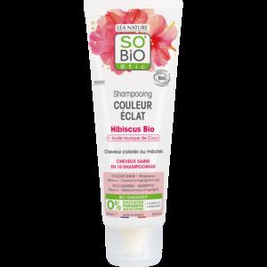 SO'BiO étic Colour Shine Hibiscus Shampoo 250ml
