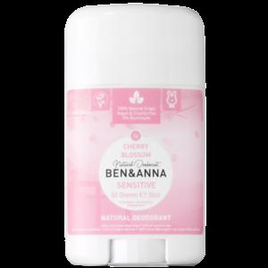 BEN&ANNA Sensitive Deodorant Stick Cherry Blossom 60g