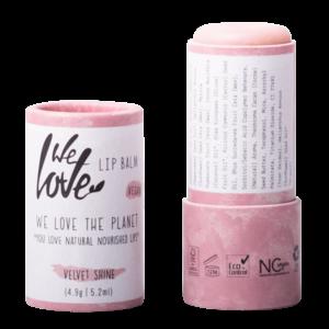 We Love The Planet Lip Balm Velvet Shine 4.9g